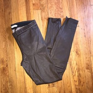 Vince leather leggings. Size M